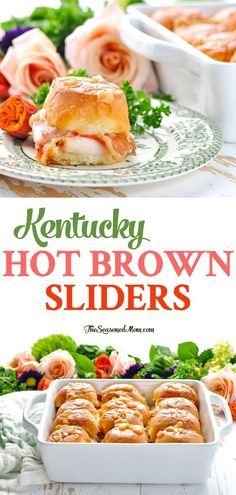 Kentucky Hot Brown Sliders are the perfect Derby Day party food! Kentucky Derby Party | Derby Party | Easy Appetizers | Party Food | Party Appetizers #sliders #kentuckyderby #derbyday #derbyparty #TheSeasonedMom