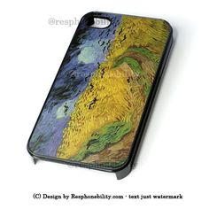 Van Gogh Wheat Fields iPhone 4 4S 5 5S 5C 6 6 Plus Case , iPod 4 5 Cas – Resphonebility