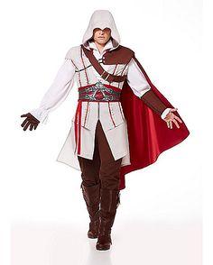 Assassins Creed Ezio Adult Mens Costume - Spirithalloween.com