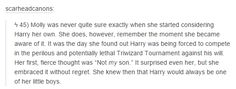 harry potter - molly weasley headcanon