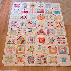 Farm Girl Vintage quilt pattern by Lori Holt