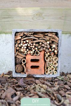 Zelf een insectenhotel maken doe je zo www.moodkids.nl