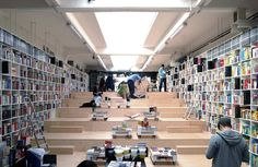Built by Plural,Totalstudio in Bratislava, Slovakia How can a smallbookshop compete within a network of firmly established booksellers? What can it offer to customers? H...