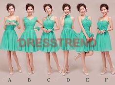 Bridesmaid Dress/Green Bridesmaid Dress/Short by DressTrend, $99.99