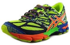 Asics Gel-noosa Tri 10 Gs Youth Round Toe Synthetic Multi Color Running Shoe.
