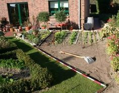 My Country Cottage Garden: Project I - Neue Beete - New borders
