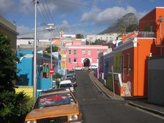 Cape Town, Bo Kaap neighborhood      - Awesome South Africa. Think about Immigration to South Africa