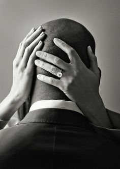 I Love this pic!! Could be the bald head..........love!!!!