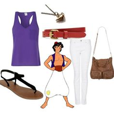 Disney Outfits for Girls | How To Dress Like Disney Princes Like Aladdin