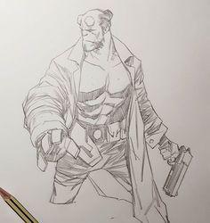 Comic Books Art, Comic Art, Book Art, Ben Oliver, Different Media, Biro, Sketches, Marvel, Fan Art
