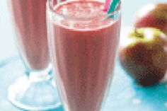 Strawberry and apple smoothie recipe, NZ Womans Weekly – visit Eat Well for New Zealand recipes using local ingredients - Eat Well (formerly Bite) Apple Smoothie Recipes, Apple Smoothies, Food Hub, Frozen Strawberries, Apple Juice, Recipe Using, Eating Well, Alcoholic Drinks, Good Food