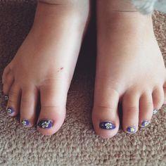 First real salon pedicure #momslife #familyfirst #selflove #girls #daughter