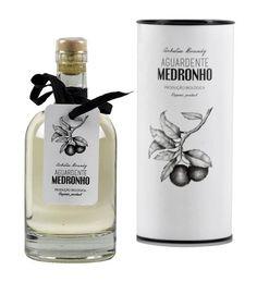 Aguardente de Medronho Bio Rum Bottle, Liquor Bottles, Beverage Packaging, Bottle Packaging, Wine Label Design, Bottle Design, Design Da Garrafa, Olive Oil Packaging, Old Medicine Bottles