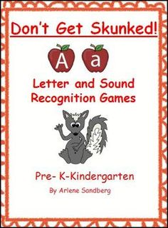 $3.00 These  games of Don't Get Skunked! include:9 Skunk Cards2 sets of letter cards1 set of I Didn't Get Skunked cards for a headband I Can Name the letter cards Upper and Lower Case letters and Skunk Cards ...