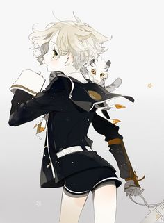 """Gokotai chan is just so cute~ I like to think of him as one of Mikazuki san's children with Kogitsunemaru san; anatomically impossible as far as yaoi goes, but think of """"if not from my body, then children of my heart""""."""