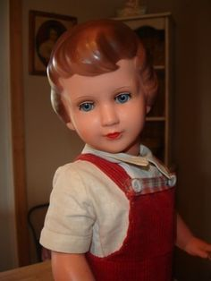 Vntg. Celluloid/Tortulon/Light Weight Doll~Turtle Mark~Schildkrot~Glass Eyes~19 | #405214317