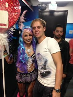 With the king of trance Armin Van Buuren at POP NyE