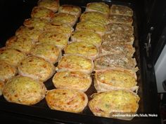 Pizza Pastry, Pita Pizzas, Serbian Recipes, Food Garnishes, Bread And Pastries, Food Decoration, No Bake Cake, Easy Desserts, Great Recipes
