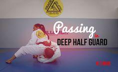 Passing   in Deep Half Guard : #DRUB #BJJ #MMA #Grappling #Judo #Jiujitsu #Brazilianjiujitsu #WBJJ #WMMA #Muaythai #Kickboxing #Catchwrestling #Wrestling #Freestylewrestling