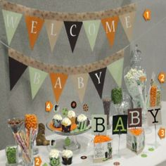 Creative And Unique Baby Shower Decorations