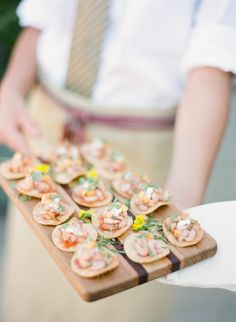 style me pretty - real wedding - usa - california - napa wedding - private estate - food & drink - food - appetizers