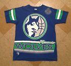 For Sale - Vintage Rare Salem Sports Minnesota Timberwolves Heavy T Shirt 90s Nba Wolves L - See More At http://sprtz.us/WolvesEBay