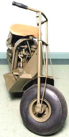 Cushman Auto Glide Motor Scooter for Airborne Troops Motor Scooters, Motor Car, Jeep Models, Mini Bike, Troops, Motorbikes, Collections, Vintage, Cars