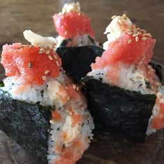 Media Asian Recipes, Sweet Recipes, Ethnic Recipes, Work Lunch Box, Sushi Love, Rice Balls, Desert Recipes, Healthy Mind, Japanese Food