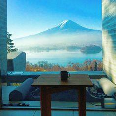 hoshinoya fuji hotel.