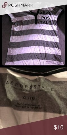 Aeropostale Polo Shirt size XL Aeropostale Polo shirt size XL only wore one time Aeropostale Tops Tees - Short Sleeve