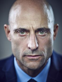 Mark Strong by Robert Wilson for Times