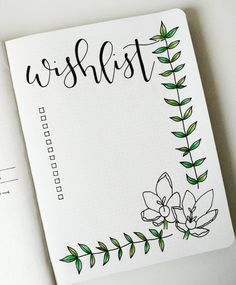 10 ideas for your collection page for your bullet journal! deco… 10 ideas for your collection page for your bullet journal! Bullet Journal 2019, Bullet Journal Spread, Bullet Journal Inspo, Bullet Journal Birthday Page, Bullet Journal Gift List, Bullet Journal Inspiration Creative, Bullet Journal Tracker, Journal Layout, My Journal