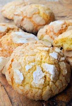Biscotti morbidi all'arancia e mandarancio veloci Italian Cookie Recipes, Italian Cookies, Italian Desserts, Biscuit Cake, Biscuit Recipe, Almond Paste Cookies, Sweet Light, Kenwood Cooking, Biscotti Cookies