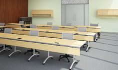 nevins Cosmo Training + Sectional Conferencing Tables