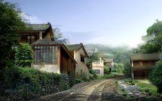 Hasil gambar untuk town landscape