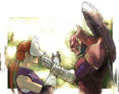 Kunimitsu & Yoshimitsu - Tekken via Pixiv Mask Japanese, Tekken Girls, Street Fighter Tekken, Kitsune Mask, Hotarubi No Mori, Tekken 7, Instagram Story Viewers, Comic Games, Fighting Games