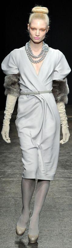Fall 2011 Ready-To-Wear Donna Karan
