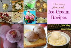 11 Homemade Ice Crea
