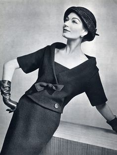 Christian Dior 1957 Photo Pottier