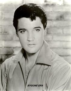 Elvis Presley Young and Handsome Hollywood by BygoneEraGallery