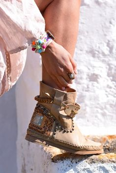 100% Made in Italy entirely hand-stitched #bohofashion #bohostyle #bohochic #bohoboots #hippiechic