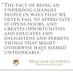 quotes from david and goliath - Google Search
