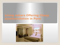 Living waters offering cheap accommodation in pune  One can predict beneficial benefits from the well-trained resort employees. Every need of the visitor is focused too. The employees give information about the town and how to get to various locations. One can information and remain in this Cheap accommodation in Pune and have fun in the town.