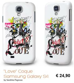 smartphone cases by Sandrine PAGNOUX for sale on http://fr.caseable.com/artist/SandrinePagnoux