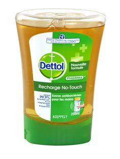 Dettol recharge no-touch refill hand wash 250ml classic