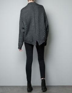 CABLE KNIT SWEATER - Knitwear - Woman - ZARA United States ($50-100) - Svpply