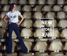 Δ #BellmurJeans Invierno15 Δ  Pata de Elefante + tiro alto: ¡un must para cualquier outfit de esta temporada!  - Jean Indigo // JENNIFER15