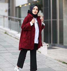 New fstylish and fashionable hijab fashion for teensolder 18 Hijab Outfit, Hijab Dress, Hijab Elegante, Hijab Chic, Muslim Fashion, Modest Fashion, Fashion Mode, Daily Fashion, Womens Fashion Online