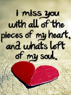 Always missing you...