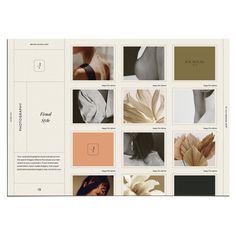 Web Design, Layout Design, Web Inspiration, Graphic Design Inspiration, Brand Guidelines Template, Brand Guidelines Design, Brand Strategy Template, Brand Identity Design, Branding Design
